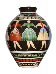 Interesting vase is a family heirloom