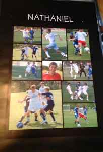 sports memories action shot poster