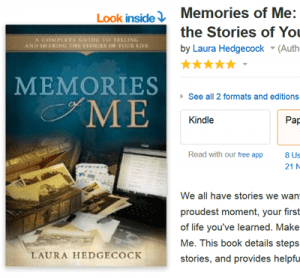 Five star reviews for Memories of Me