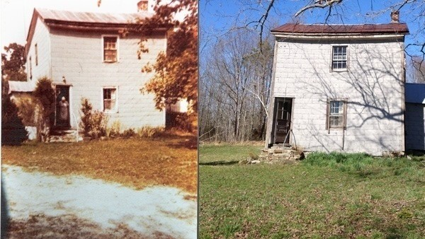 In this house now and then