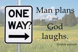 man plans god laughs Laura Stay at home mom