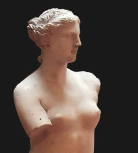 Looking at Venus de Milo, do you marvel at her beauty or yearn to hear her story? Source: Wikipedia.