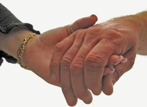 Form connections through stories is like hand holding