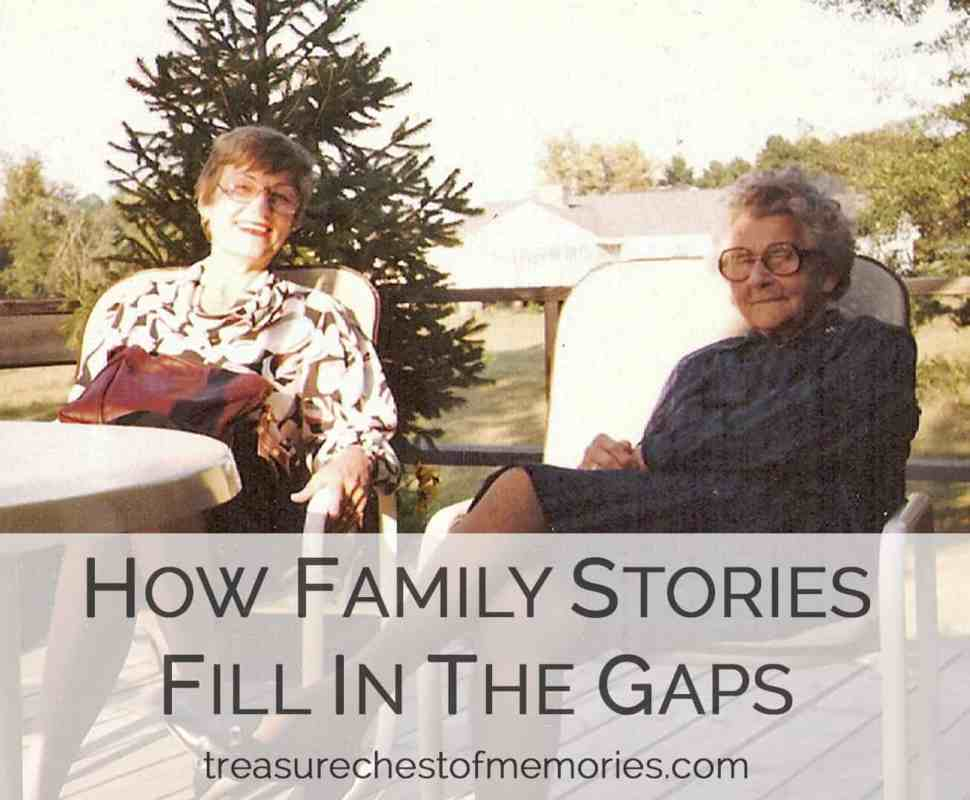 How Family Stories Fill in the Gaps: A Case Study