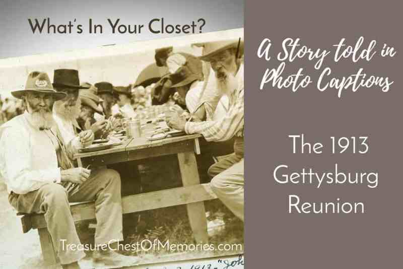A Story in Captions: The 1913 Gettysburg Reunion