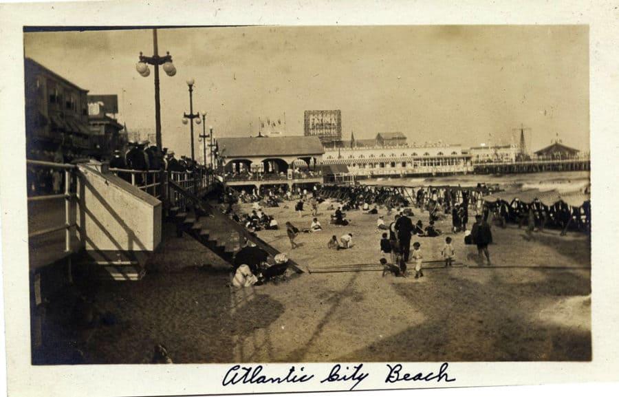 Atlantic City Beach Photograph e1530232215542