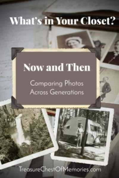 Comparing Photos Across Generations