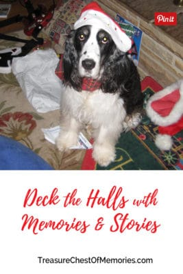 Deck the Halls with Memories and Stories Pinnable Graphic