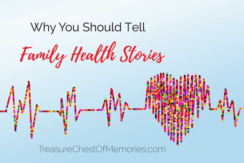 Family Health Stories Graphic