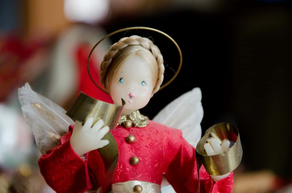 Family Holiday Traditions a photo of a Nurenberger Angel