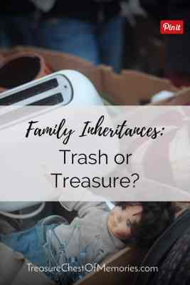 Trash or Treasure A pinnable graphic