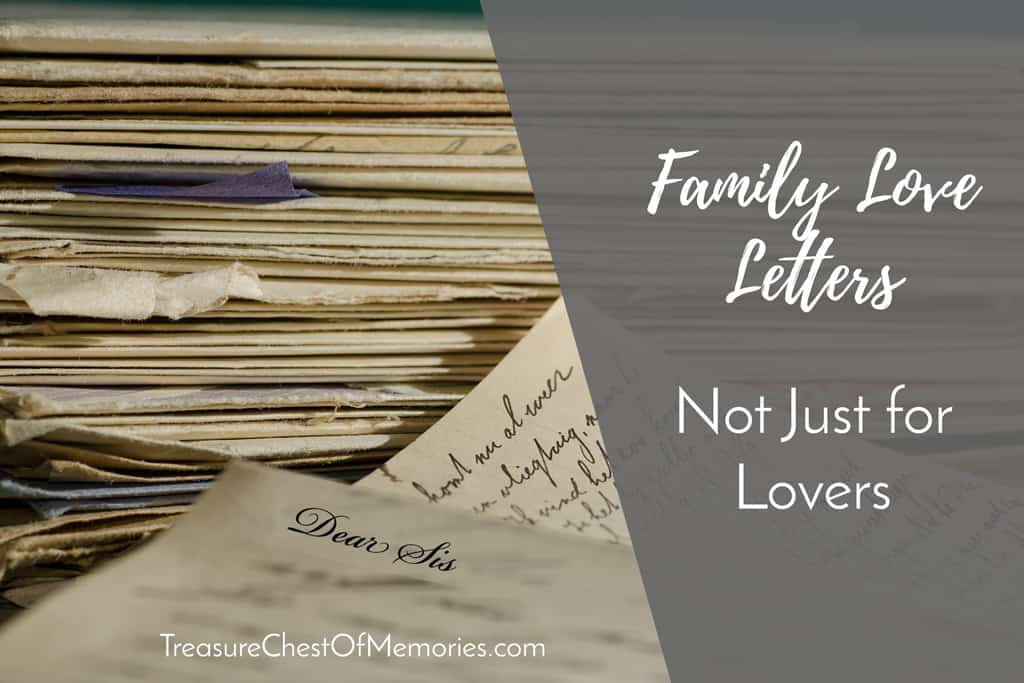 Family Love letters