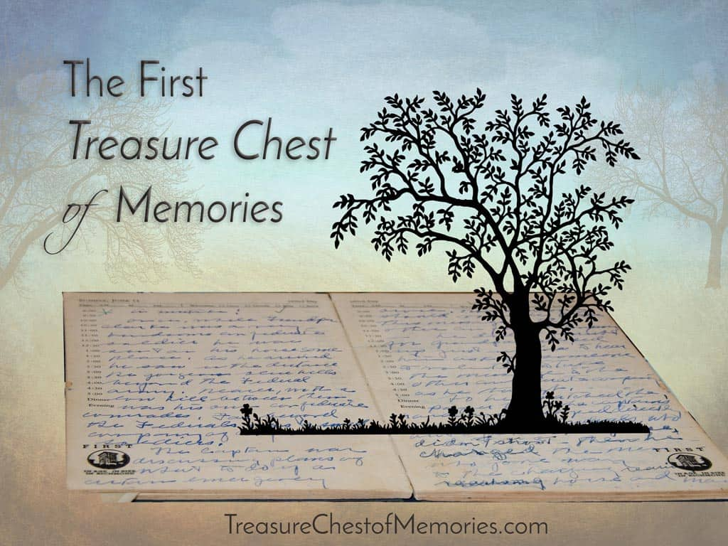 The first Treasure Chest of Memories Graphic