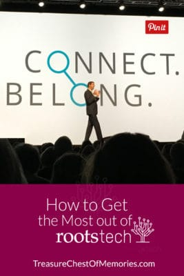 How to Get the Most out Of RootsTech Graphic Pinnable Size