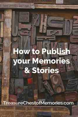 How to Publish Your Memories and Stories Headline Graphic