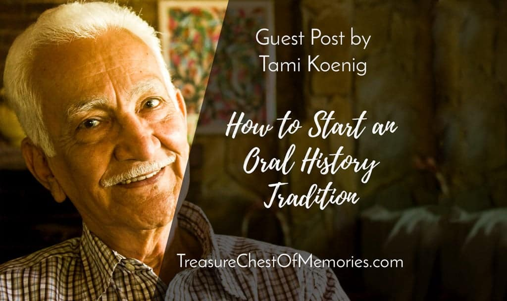 Graphic How to Start an Oral History tradition