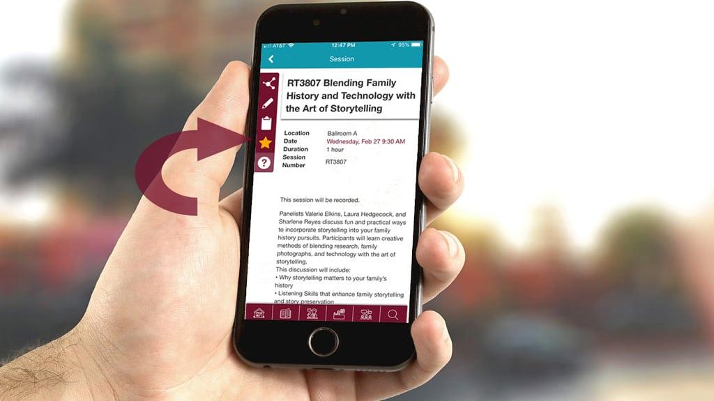 RootsTech 2019 App Demo Shot