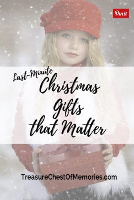Last Minute Christmas Gifts that Matter