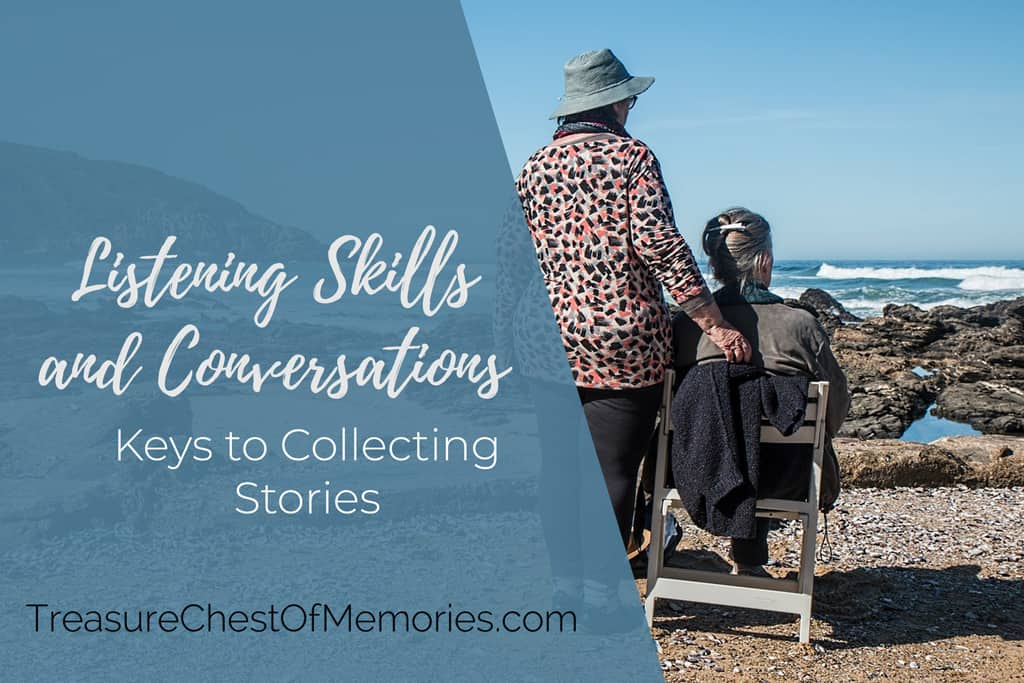 Listening Skills and Conversations title graphic