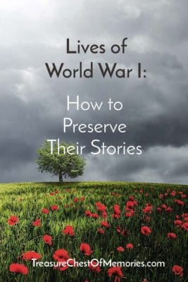 Pinnable Graphic Lives of World War I