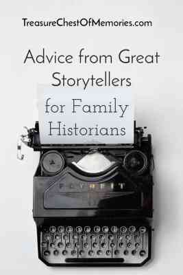Advice from Great Storytellers Pinnable image