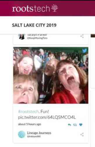 ROotstech 2020 have fun with social media example.