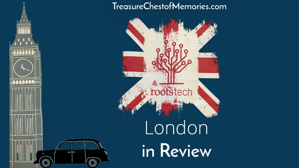 RootsTech London Review