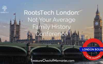 RootsTech London: Not your Average Family History Conference