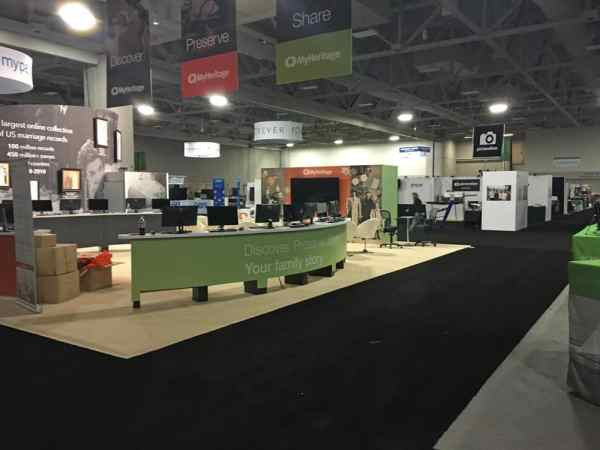 Rootstech Expo Hall