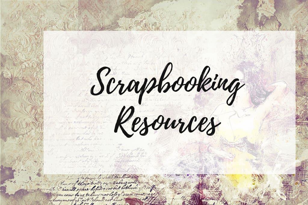 Scrapbooking Resources