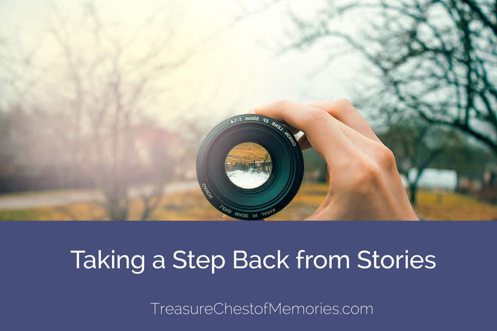 Taking a step back from stories lets us see them differently