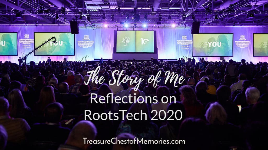 The Story of Me Reflections of Rootstech 2020 (SLC)