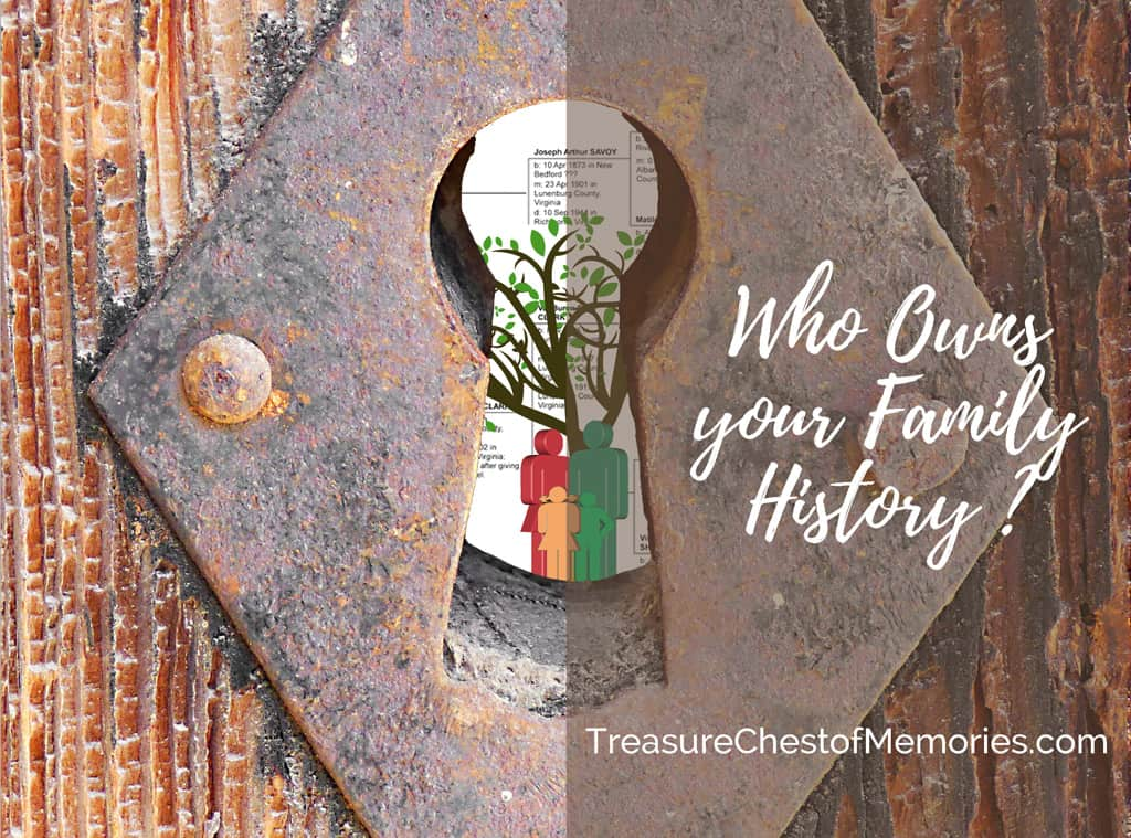 Who Owns Your Family History