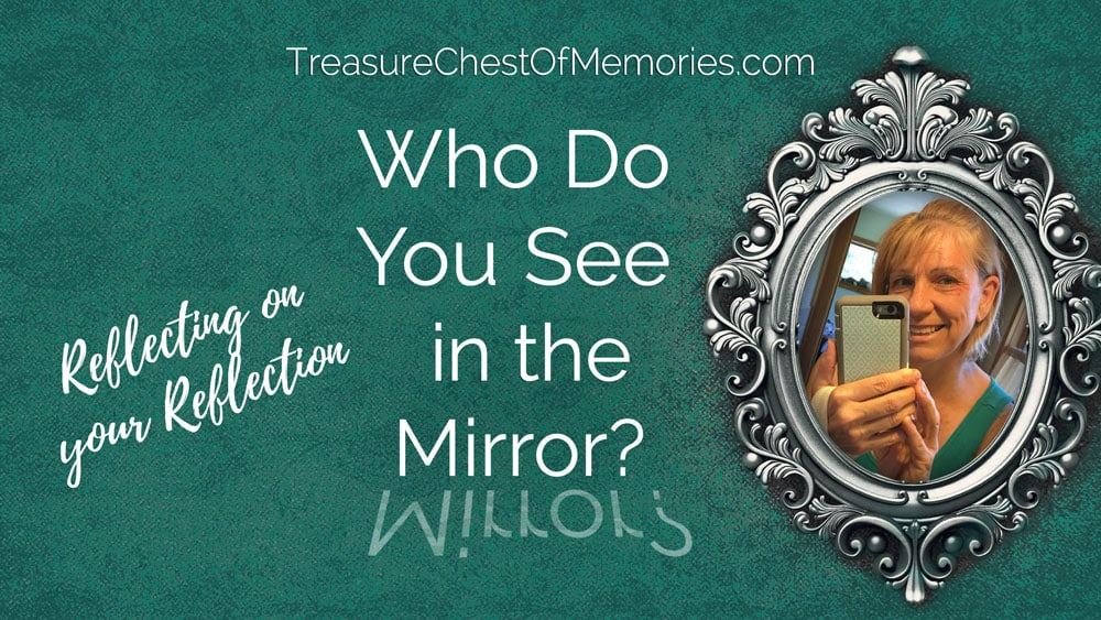 Who do you see in the mirror? A Writing Prompt.
