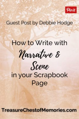 Write with Narrative and Scene