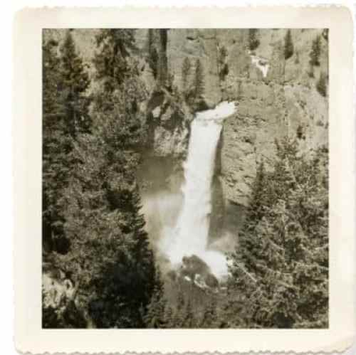 Comparing Photos across Generations Yosemite Falls then
