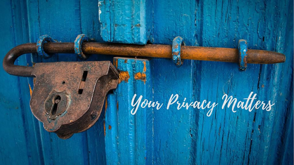 Your Privacy Matters 16 9 1