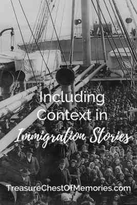 including context in Immigration Stories pinnable image