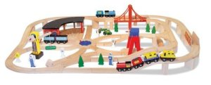 Toddler Boys Toys - Melissa Doug Wooden Railway
