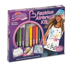 Art Toys - Sprayza Fashion Airbrush Kit by Melissa n Doug