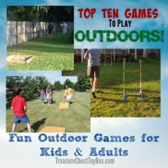 Fun Outdoor Games For Kids and Adults