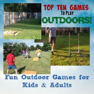 Fun Outdoor Games For Kids and Adults intro1