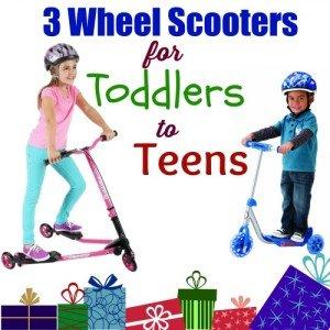 3 Wheel Scooters Kids