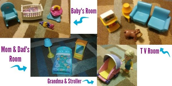 Fisher-Price My First Doll House Furniture and Accessories