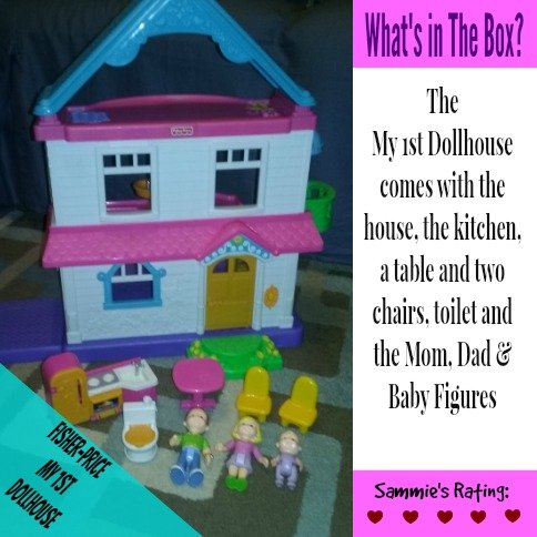 Fisher-Price My First Dollhouse - Whats in the box