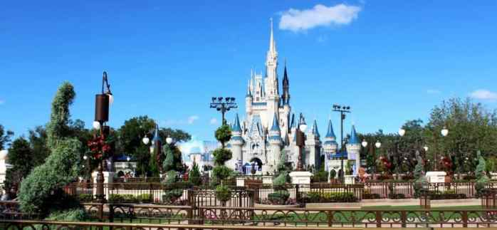 Disney World - Cindarella's castle
