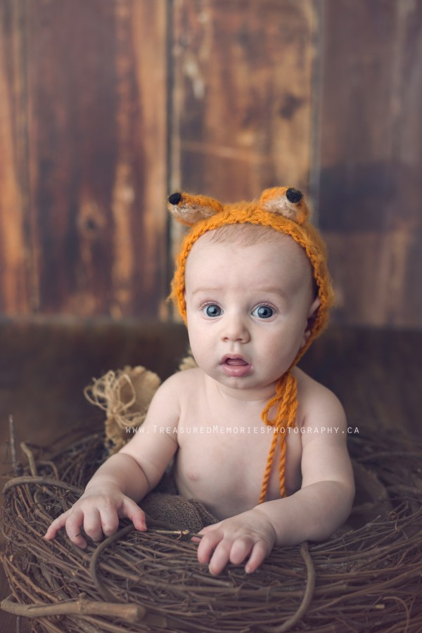 Foxy Newborn Session