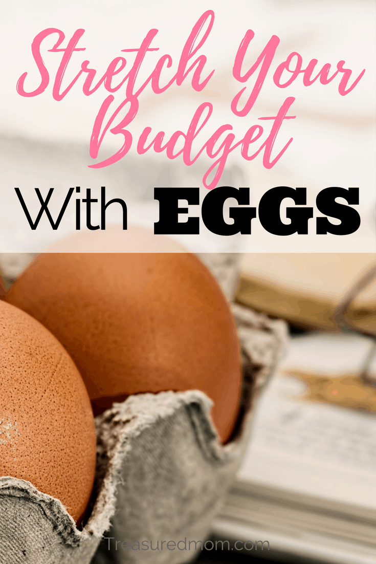 Eggs are an amazing thing to use for a frugal grocery budget. Read here for lots of ideas for delicious egg dishes.