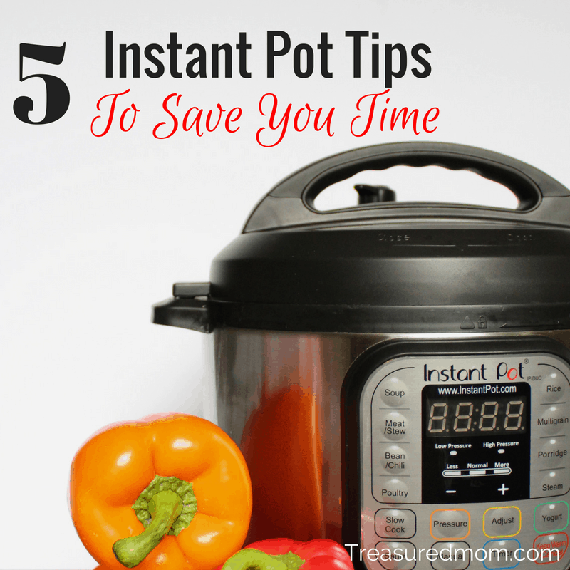 Here are the 5 Best Instant Pot Tips To Save You Time. Read here today to find out ways you can put your Instant Pot to work for you. Are you curious about getting an Instant Pot? Find out why you'll love it.
