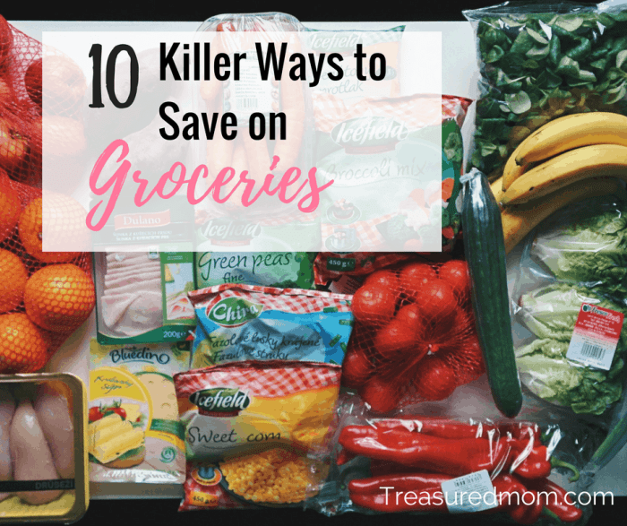 These are 10 Great tips to help you save money on groceries. Check out all these ideas and learn to be frugal with your grocery budget.